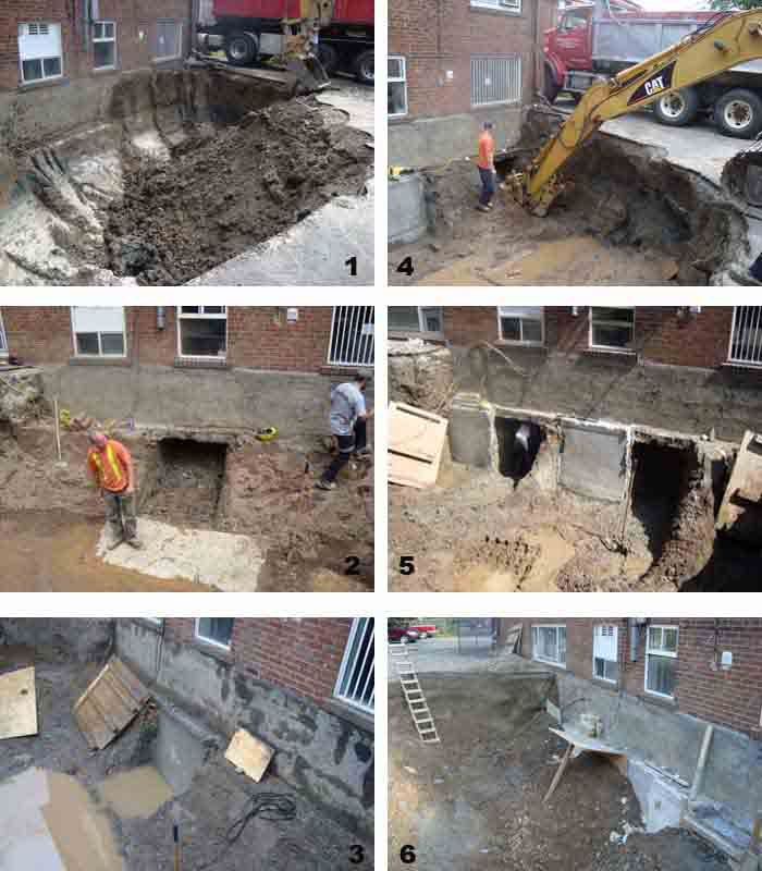 Concrete Underpinning Foundation